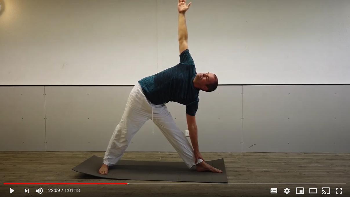 Séance de yoga du confinement pour débutants